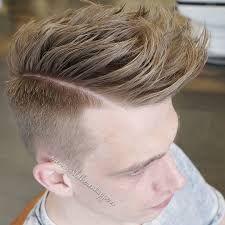 long hair sweeped side fringe shaved hairstyles for men with long hair 2018