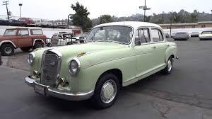 1957 mercedes benz 220s ponton w180 sedan youngtimer 300e motor