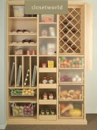 designing a pantry organization and design ideas for storage in