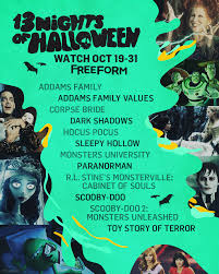 tv schedule see freeform s abc family complete 13 nights of