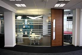 Glass Partition Design Furniture Small Office With Tile Ceilings And Glass Partitions