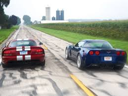 corvette vs viper lingenfelter corvette z06 vs dodge viper srt10 sports cars