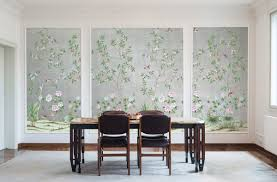 wallpaper for dining rooms affordable temporary chinoiserie wallpaper vogue