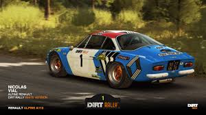 alpine a110 renault alpine a110 1973 nicolas racedepartment