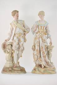 Home Interior Porcelain Figurines by Xxl Rare Antiq French Vion U0026baury Bisque Porcelain Statue Figurine