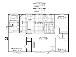 find floor plans view the arlington 48 floor plan for a 1440 sq ft palm harbor