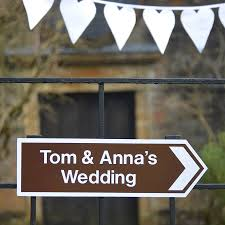 Personalised Wedding Backdrop Uk Wedding Signs Notonthehighstreet Com