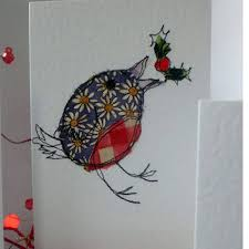embroidered christmas cards google search crafty things