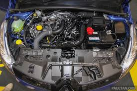 renault 4 engine renault clio gt line engine bay launched in malaysia indian