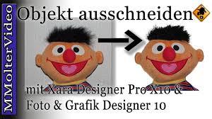 magix foto und grafik designer objekt freistellen mit xara designer pro x10 und foto grafik