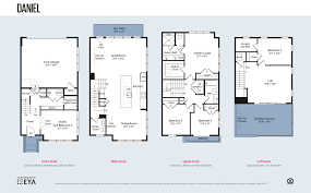 Montgomery Homes Floor Plans by Montgomery Row Townhomes By Eya The Daniel Bethesda Montgomery