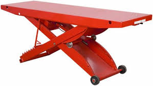 scissor lift table harbor freight anybody use the harbor freight lift table page 2 harley