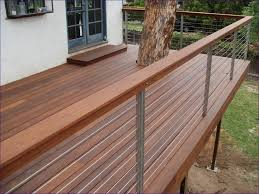 Solid Banister Outdoor Ideas Wonderful Clear Deck Railing Ideas Solid Deck