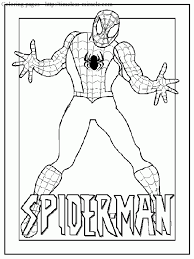 coloring pages spiderman fabulous coloring pages spiderman