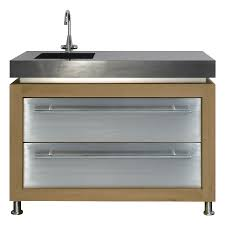 kitchen sinks metal kitchen sink cabinet unit silver rectangle