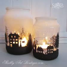 Diy Mason Jar Crafts For Christmas by Club De Las Amigas De Las Manualidades Shabby Boutique And