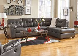 gray leather sectional sofas alleycatthemes com