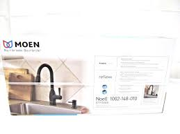 moen lindley kitchen faucet moen bronze kitchen faucets ebay