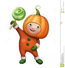 cute happy halloween clip art boy in pumpkin costume halloween clip art stock illustration