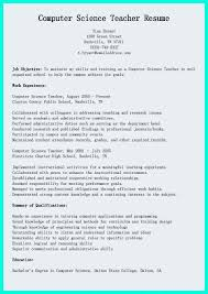 Computer Resume Essay Listing Courses On Resume Novice Teacher Cover Letter