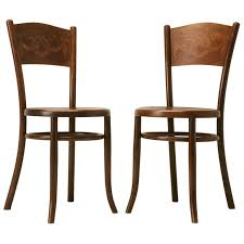 Bentwood Bistro Chair C 1930 Pair Of