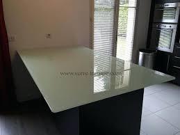 table en verre cuisine table en verre cuisine dessus de table verre trempe clair laque