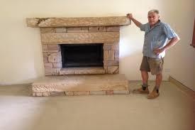 sandstone fireplace sandstone hearth pavers sandstone pavers pavers