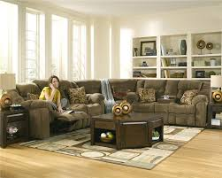 Reclining Living Room Furniture Sets Brown Chairs For Living Room With Retro Contemporary Style Design