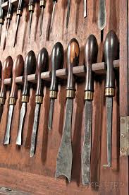 collection of holtzapffel ornamental turning tools sale number
