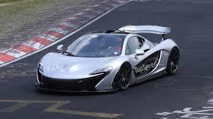 mclaren p1 crash test mclaren p1 sold out five xp prototypes will make it to production