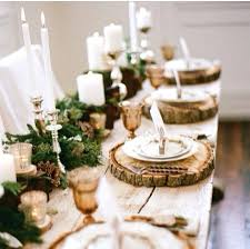 simple christmas table settings simple christmas table centerpieces inspiration of table decorations