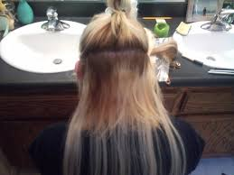Tap In Hair Extensions by Tips And Tricks How To Put In Hair Extension With Clips Bellatory