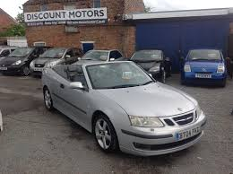 saab 9 3 convertible 2 0t vector 2d for sale parkers