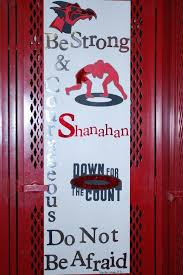 Football Locker Decorations Wrestling Locker Decorating Ideas Pictures To Pin On Pinterest