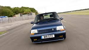 renault car 1990 hammond u0027s icons renault 5 gt turbo top gear
