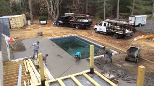 pool deck time lapse youtube