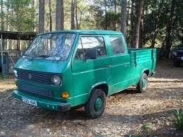 volkswagen pickup diesel 1989 vw u0027doka u0027 crew cab pickup truck 1 9 turbo diesel u0026 low