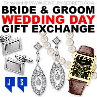 wedding gift groom wedding gifts for the and groom jewelry secrets