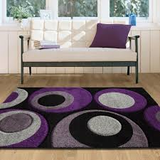 Purple Flower Rug Living Room Floral Yellow Interior Living Room Modern Fireplace