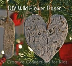 Paper Christmas Tree Crafts For Kids Wildflower Paper Christmas Ornaments