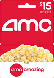 15 gift cards amc theatres 15 gift card multi amc 15 best buy