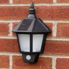 Best Outdoor Solar Led Lights by Outdoor Solar Wall Light White Cambridge Solar Powered Contempory
