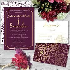 wedding invitations burgundy beautiful in burgundy by heartofopal on etsy wedding invitations