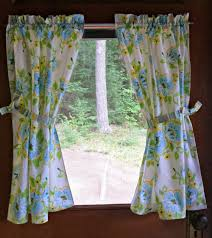 Pattern Window Curtains Cheap Small Window Curtains With Beautiful Flower Pattern For