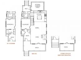 Charleston Floor Plan by Frontdoor Communities Freeman U0027s Point Seaside Homes 1192943