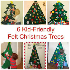 6 kid friendly felt christmas trees u2013 felting
