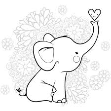 paisley elephant coloring pages coloring pages coloring