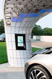 nissan leaf charging points bmw turns streetlights into electric car charging stations bmw