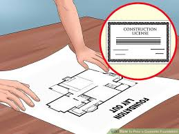 How Much Does It Cost To Pour A Basement by How To Pour A Concrete Foundation With Pictures Wikihow
