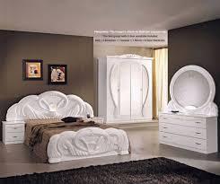 ben company giada giada white finish italian bed group set with